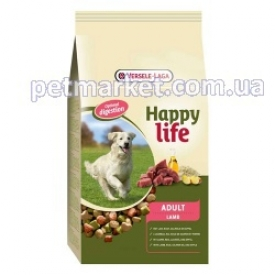 Happy Life ADULT MINI Lamb - корм для собак мелких пород