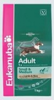 Eukanuba Dog Adult Small & Medium Breeds Lamb & Rice, Эукануба Э