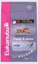 Eukanuba Puppy & Junior Large Breed с курицей
