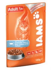 IAMS CAT POUCH with Ocean Fish