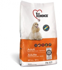 1-st CHOISE ФЕСТ ЧОЙС Small and Medium breeds Adult Dog Food