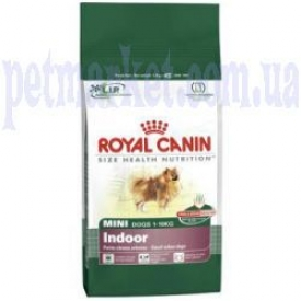 Royal Canin MINI INDOOR корм для собак мини пород